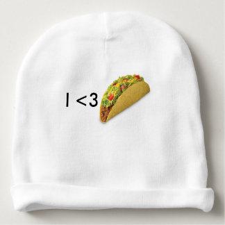 Tacos del bebé <3s gorrito para bebe