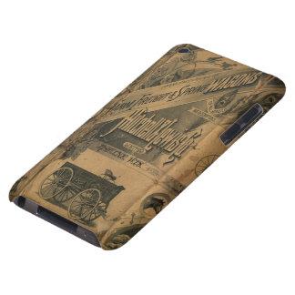 Tacto 1885 de iPod de la casamata de los anuncios Case-Mate iPod Touch Protectores