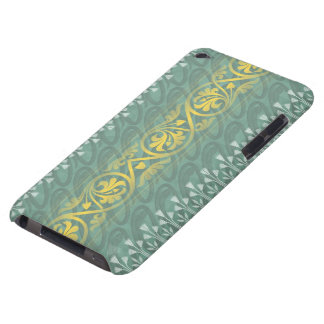 Tacto elegante de iPod de la casamata del damasco iPod Touch Coberturas