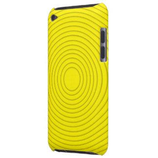 tacto espiral amarillo de iPod de la ilusión iPod Touch Carcasa