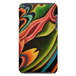 Tacto tropical abstracto de iPod de la casamata iPod Touch Case-Mate Carcasas