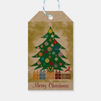 Tags para presente de Natal Etiquetas Para Regalos