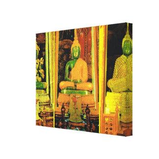 Tailandia, Bangkok, Buda esmeralda Lona Envuelta Para Galerías