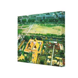 Tailandia, Bangkok, complejo del templo budista Impresión En Lona Estirada