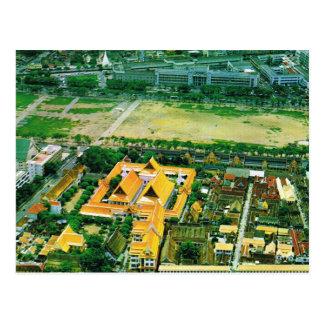 Tailandia, Bangkok, complejo del templo budista Postal