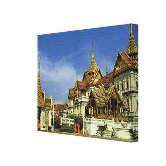 Tailandia, Bangkok, palacio magnífico Impresion De Lienzo
