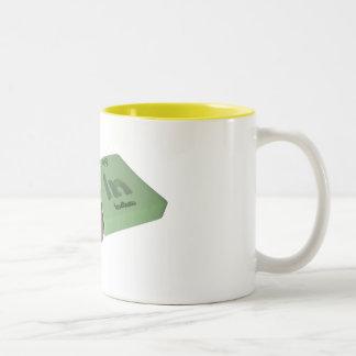 Tain as Ta Tantalum and In Indium Coffee Mugs