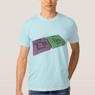 Tain como tantalio de TA y en indio Camiseta