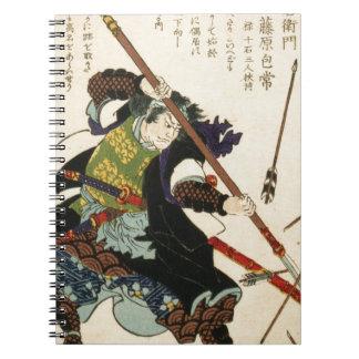 Taiso - Ronin que se mantienen de flechas Libretas