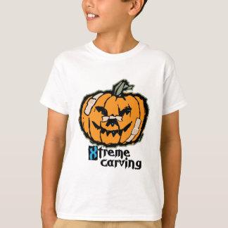 Talla de la calabaza de Xtreme Camiseta