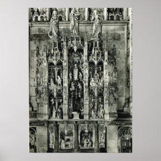 Tallando, iglesia del en Bresse de Bourg Posters