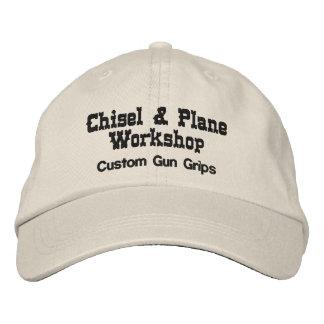 Taller del cincel y del avión gorra de béisbol bordada