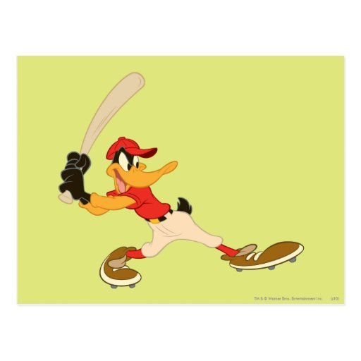 Talud del pato de Daffy para arriba Postales