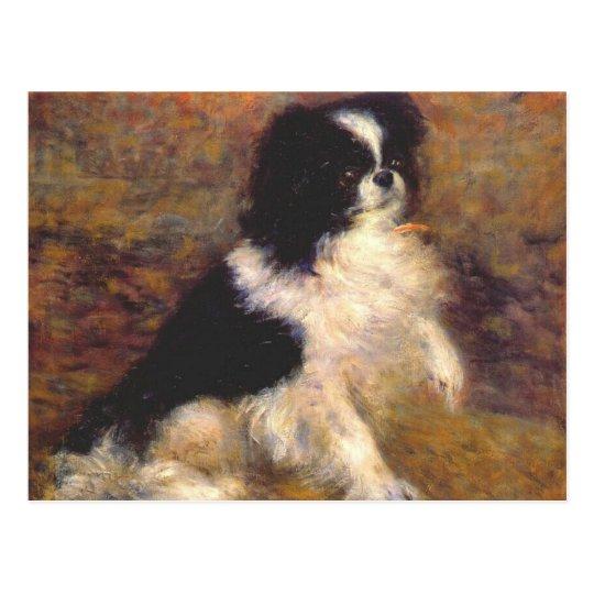 Tama el perro japonés por Renoir Postal