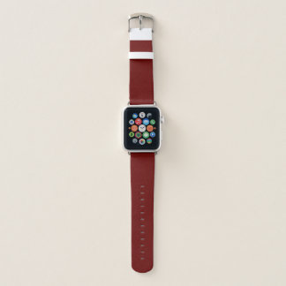 Tamaño del caso: Apple mira la banda de cuero, 38m