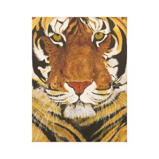 Tamaño del tigre de la vida de la vida con esta lienzo