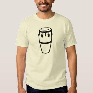 Tambor del Conga Camisetas