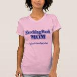 Tambores de la mama de la banda camisetas