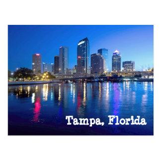 Tampa Bay en el amanecer Postal