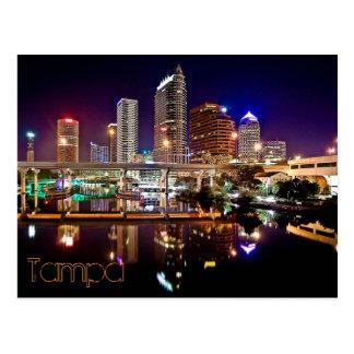 Tampa, la Florida del puente de la calle de Platt Postal
