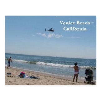 ¡Tan Niza postal de la playa de Venecia!
