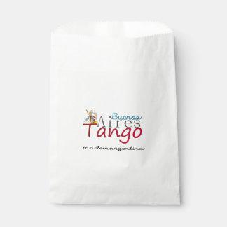 Tango de Buenos Aires hecho en la Argentina Bolsa De Papel