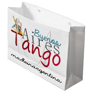 Tango de Buenos Aires hecho en la Argentina Bolsa De Regalo Grande