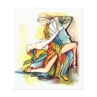 Tango del EL Alma del En Impresión En Lona