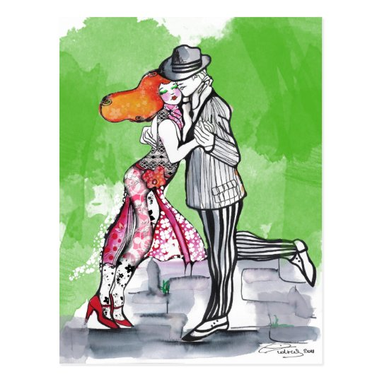 Tango meridional de las brisas postal