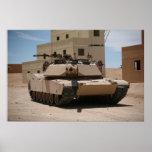 Tanque de batalla principal de M1A1 Abrams Impresiones