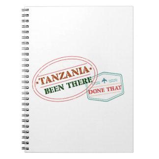 Tanzania allí hecho eso libro de apuntes