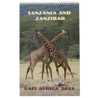 Tanzania y Zanzíbar Calendario