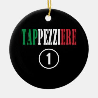 Tapiceros italianos: Uno de Tappezziere Numero Adorno Redondo De Cerámica