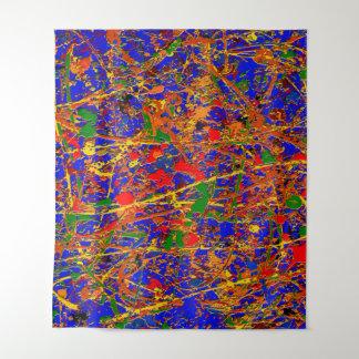 Tapiz #741 abstracto grande