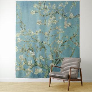 Tapiz Árbol de almendra de Vincent van Gogh en flor