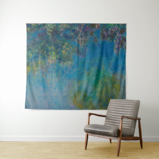 Tapiz Bella arte GalleryHD floral de las glicinias de