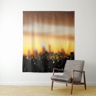 Tapiz Bloques digitales del pixel del arte de la puesta