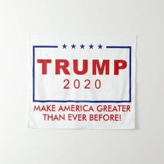 Tapiz Donald Trump 2020 hace América mayor que nunca