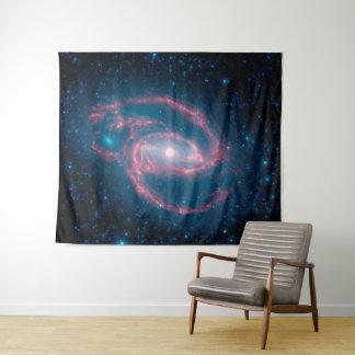 Tapiz Galaxia en espiral de NGC 1097 de la noche