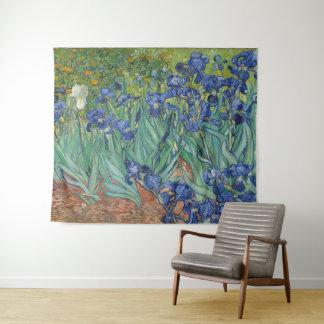 Tapiz Iris por el arte de Vincent van Gogh GalleryHD