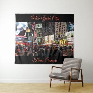 Tapiz Tapicería de la fotografía del Times Square de New