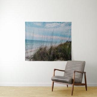 Tapiz Tapicería de la pared de la escena de la playa que