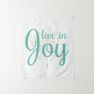 Tapiz Viva en tapicería de la alegría el  