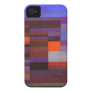 Tarde del fuego de Paul Klee Case-Mate iPhone 4 Cobertura