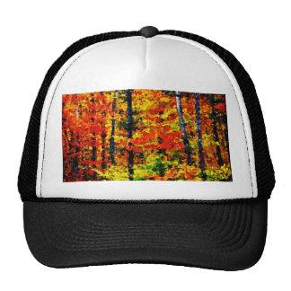 Tarde del otoño - gorra del arte de la pintura