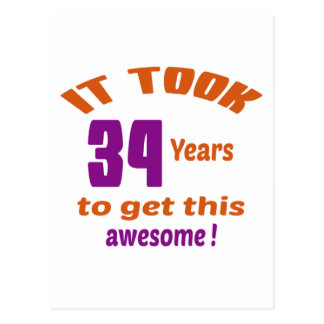 ¡Tardó 34 años para conseguir esto impresionante! Postal