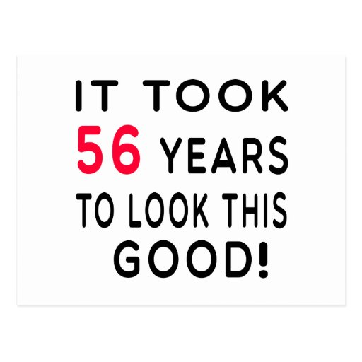 Tardó 56 años de diseños del cumpleaños postales