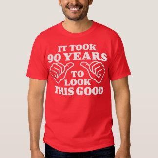 Tardó 90 años para mirar esto bueno camiseta
