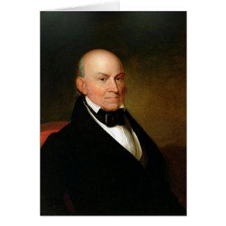 Tarjeta 06 John Quincy Adams