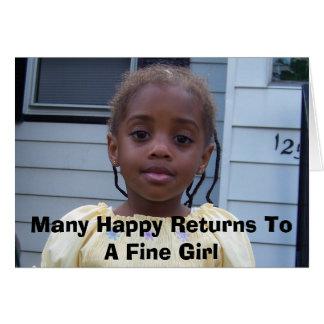 Tarjeta 100_0025, muchas devoluciones felices a un chica
